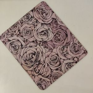 Other - PINK ROSE PRINT MOUSE PAD
